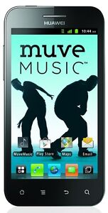 New Huawei Mercury M886 Cricket Wirless Muve Music Android Smartphone 8mp Camera