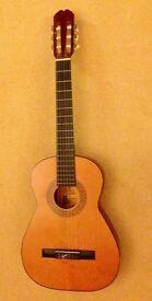 BM Clásico 3/4 Guitar with 4/4 (full size) neck