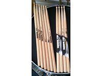 7 Pair Pro Drum Sticks