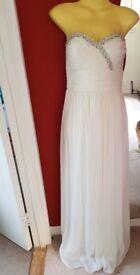 Only tried on wedding dress size 10