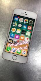 iPhone Se unlocked rose gold cqn deliver