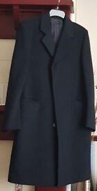 "Crombie coat black 40"""