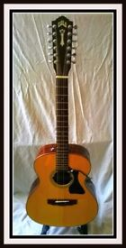 Guild 12 String Acoustic & Hard Case