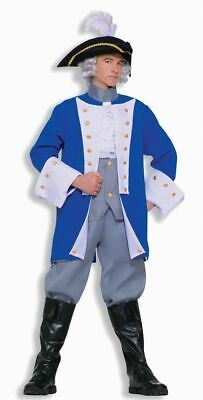 Colonial General Historical Character Costume Adult Std Town Crier Re-enactment](Halloween Town Characters)