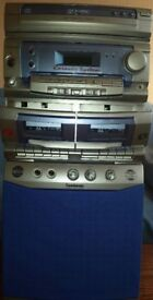 Hi Fi, 3CD, double cassette, Karaoke system, Goodmans