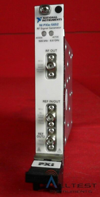National Instruments PXIe-5652 National Instruments PXIe-5652 6.6 GHz RF Analog