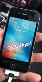 iPhone 4s o2 Giffgaff can deliver