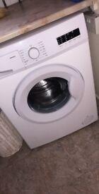 White swan washing machine