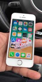 IPhone Se unlocked rose gold can Deliver