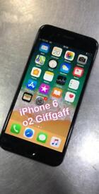iPhone 6 o2 Giffgaff can deliver