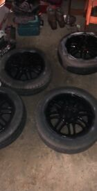 Original ford alloy wheels they have been hand spray painted 4x108 15""
