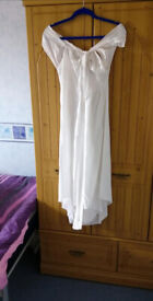 Brand New White New Look Cotton Culottes Size UK 10