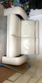 Linda barker Italian leather sofa