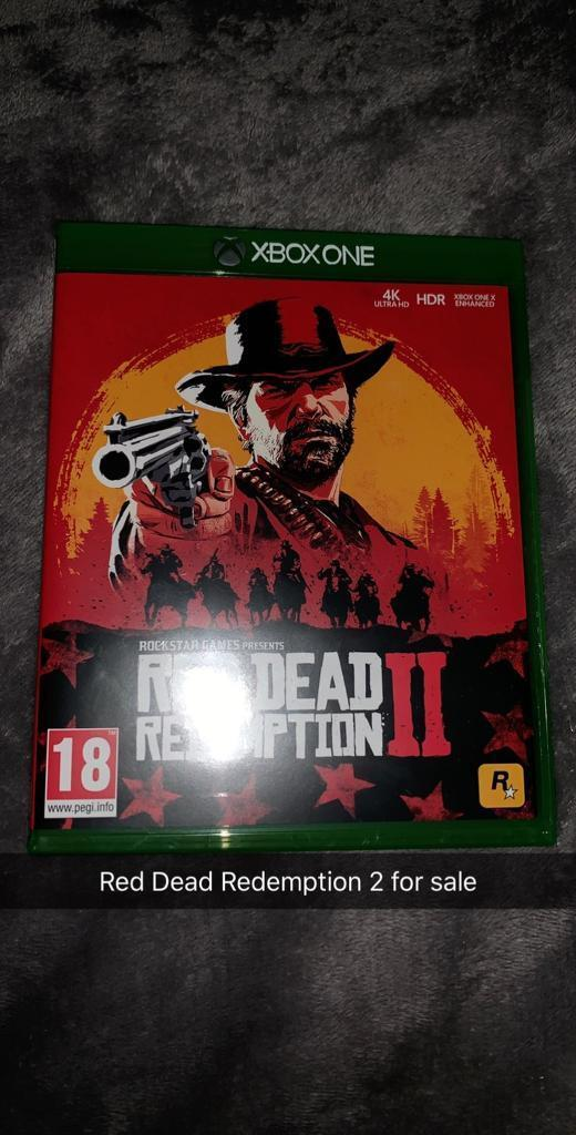 Red Dead Redemption 2 Xbox One   in Keady, County Armagh   Gumtree