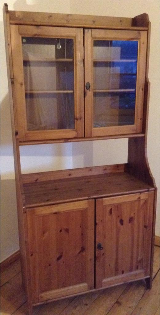 Ikea Pine Kitchen Dresser Mini Bar