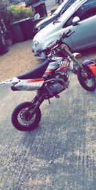 Wpd 140cc pit bike runs mint