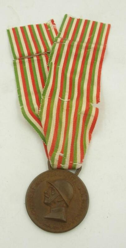 WW1 COMMEMORATIVE MEDAL OF THE ITALIAN-AUSTRIAN WAR COINED IN THE ENEMY BRONZE