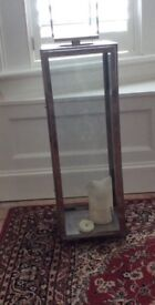 Marks and Spencer Autograph Large glass lantern