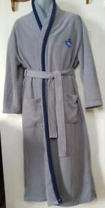 TORONTO MAPLE LEAFS Hockey MENS OS Dressing Gown Bathrobe Fleece One Size Gray  40 42 44