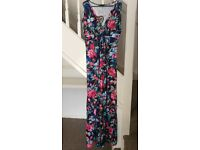 'CLUB L' Floral Tropical Maxi Dress - Size 18 - Brand New with Tags
