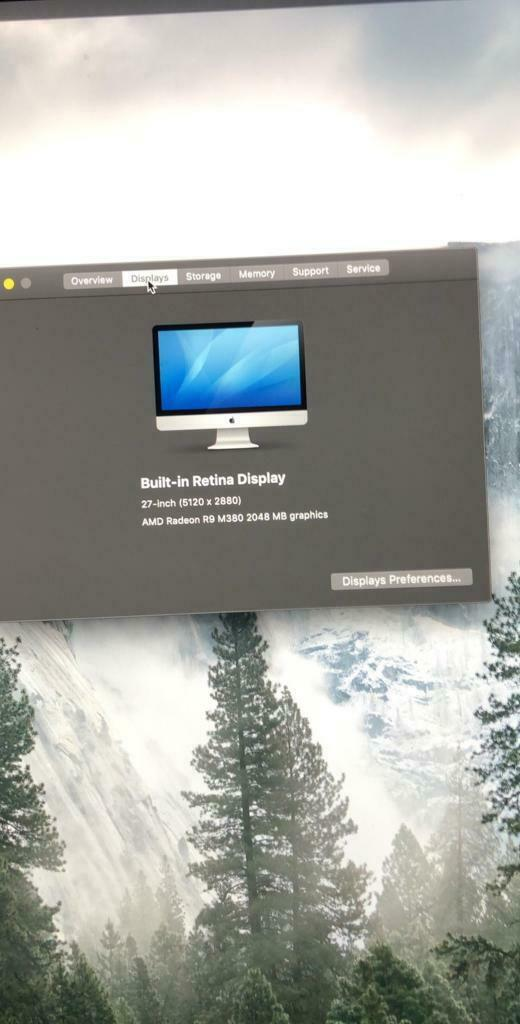 "2015 27"" apple i mac 5K retina display | in Sunderland, Tyne and Wear |  Gumtree"