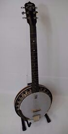 Deering B6 Boston Made in USA 6-String Banjo £1250