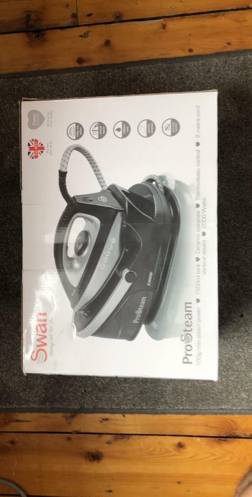 Swan   2200W Steam Generator Iron With 2 Metre Cord   in Didsbury,  Manchester   Gumtree
