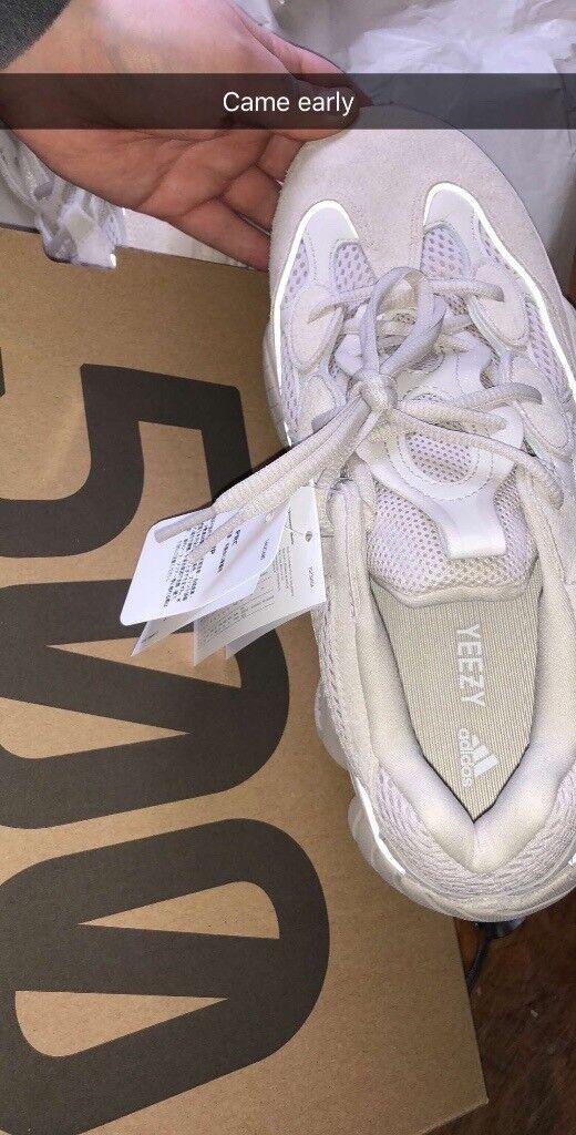 online retailer 5e45b 6c53b Yeezy 500 uk 10 adidas Kanye blush | in Stockton-on-Tees, County Durham |  Gumtree