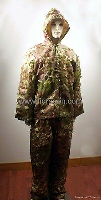 Light Weight Ghillie Suit Woodland Camo, Fit Large & XX-Large Size