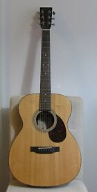 SIGMA OMR-21 ACOUSTIC GUITAR + GIGBAG EXCELLENT CONDITION £285 LIKE MARTIN OM