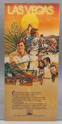 Vintage Magazine Ad Print Design Advertising Las Vegas Nevada