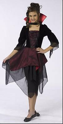 DRACULA VAMPIRE kids cute girls halloween costume S