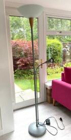 Uplighting Floor Lamp with adjustable Reading Light - FREE