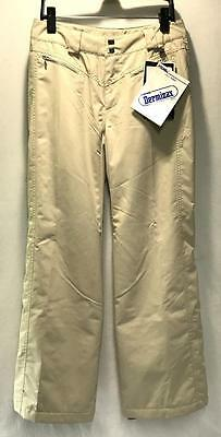 Nils Jean Women's Winter Snow Ski Sports Pants Tan Size 4 NE