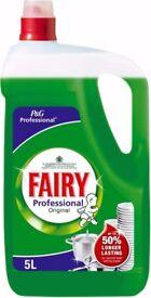 Fairy Professional Washing Up Liquid 2x5l cheap