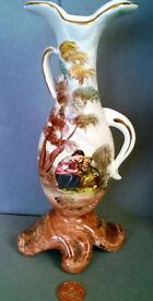 reproduction antique scene vase