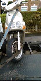 Yamaha neos 100cc 2 stroke