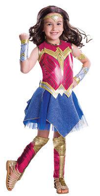 Girls Child Deluxe Wonder Woman Batman v Superman DC Comics Costume - Superman Costume Girls