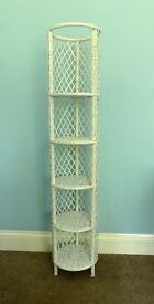 Vintage / Retro Display Wicker / Rattan Display Stand ideal for a Bathroom
