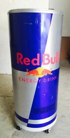 Red bull can fridge fully working shop catering unit