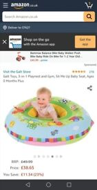 Baby play nest/ring - double sided