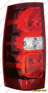 Tail Light Driver Side High Quality Chevrolet Tahoe 2007-2012