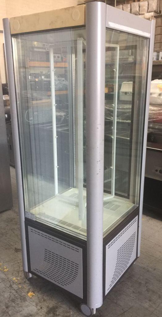 Scaiola cake display/shelves rotating cabinet