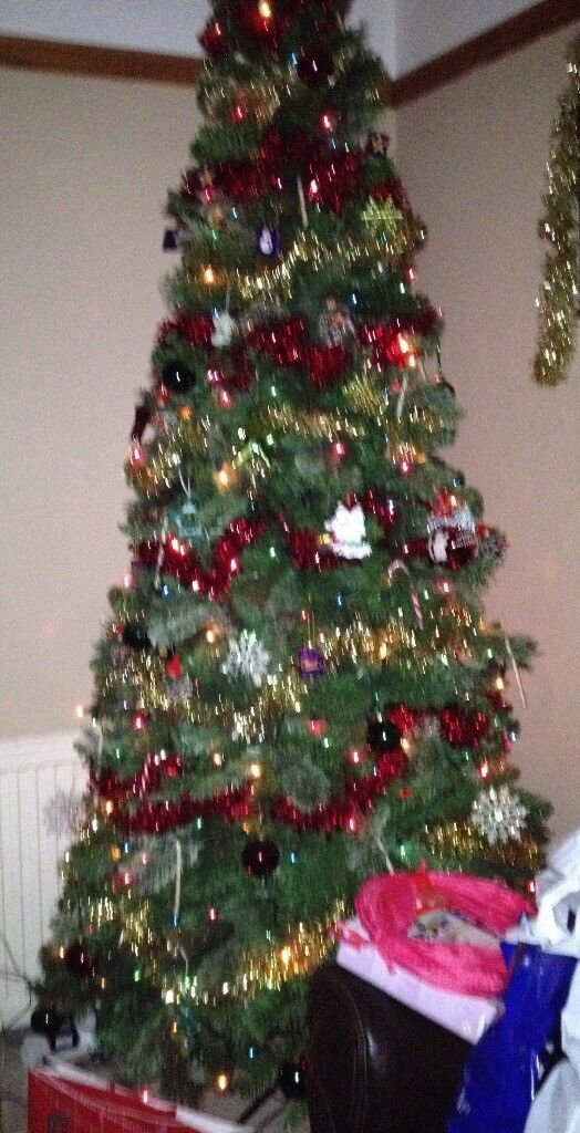 7ft 6in Christmas tree £60 ovno
