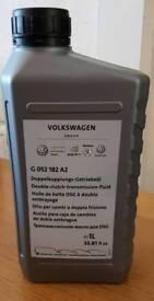 New genuine 1 litre Volkswagon double clutch transmission fluid original part number G052182A2
