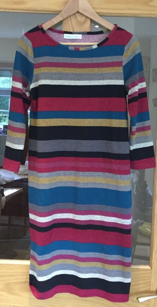 Jojo maman bebe stripey maternity dress size small £8