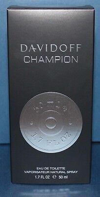 NEW Davidoff Champion by Davidoff Eau De Toilette Spray 1.7 oz for Men NIB