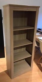 Oak Bookcase - Four shelves