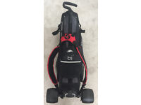 3 in 1 Golf Bag: Carry Bag & stand/Trolley Bag with detachable wheels & handle/ seperate trolly bag