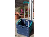 Rolling crate with handle Collapsable